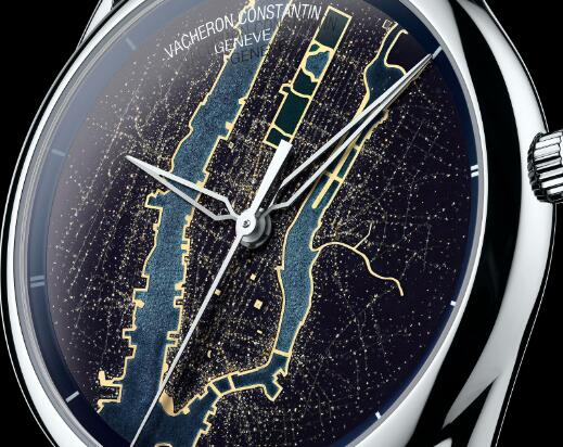 Manhattan depicted on the New York watch