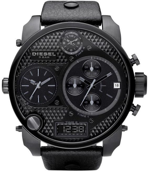 hot sale fashion men leather strap watches