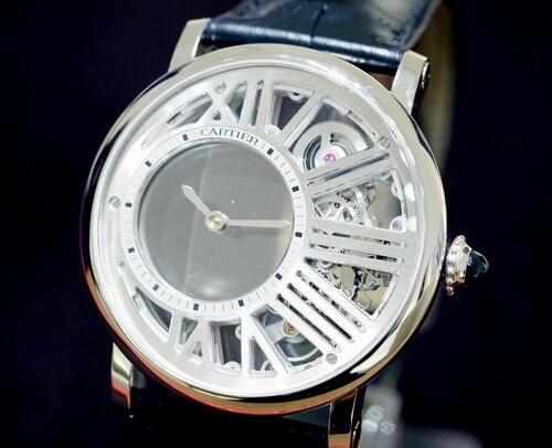 Cartier Mysterious Hour Skeleton replica