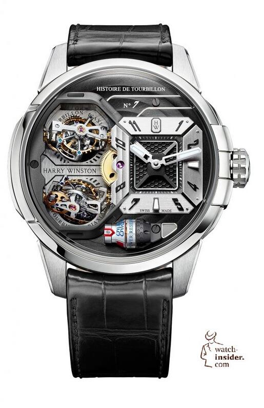 Replica Harry Winston Histoire de Tourbillon 7 Anthracite