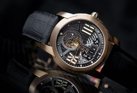 blancpain l-evolution tourbillon large date replica