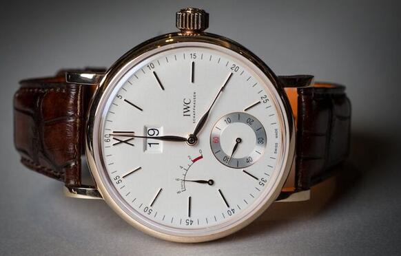 copy iwc portofino hand-wound big date